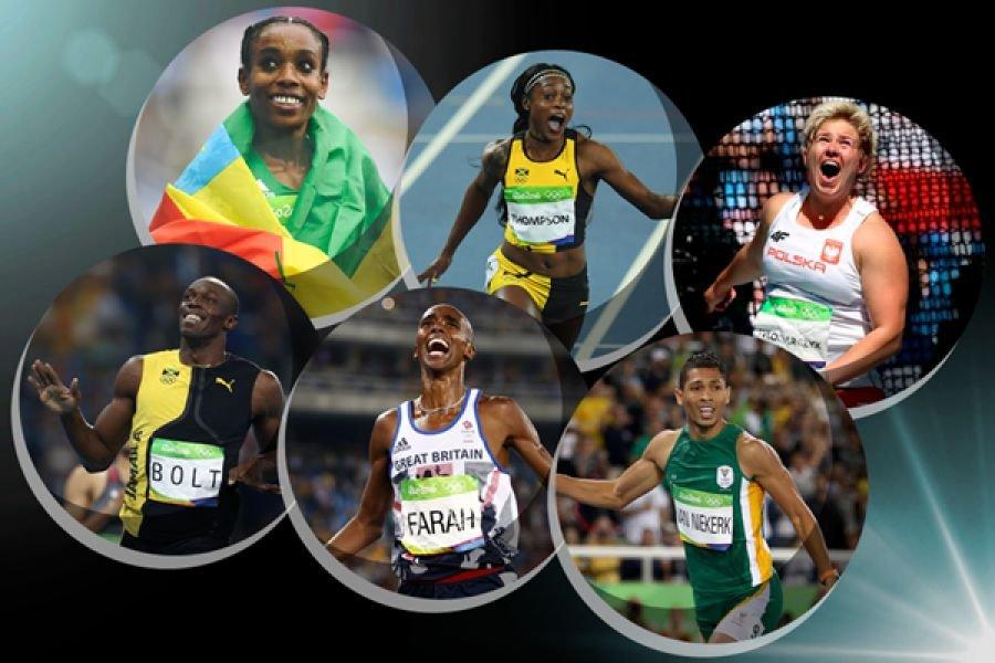 IAAF объявила список финалистов на звание лучшего атлета 2016 года