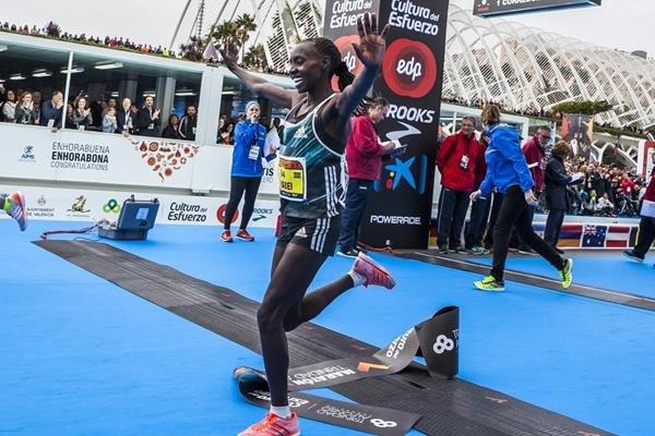 Результаты марафона в испанской Валенсии
