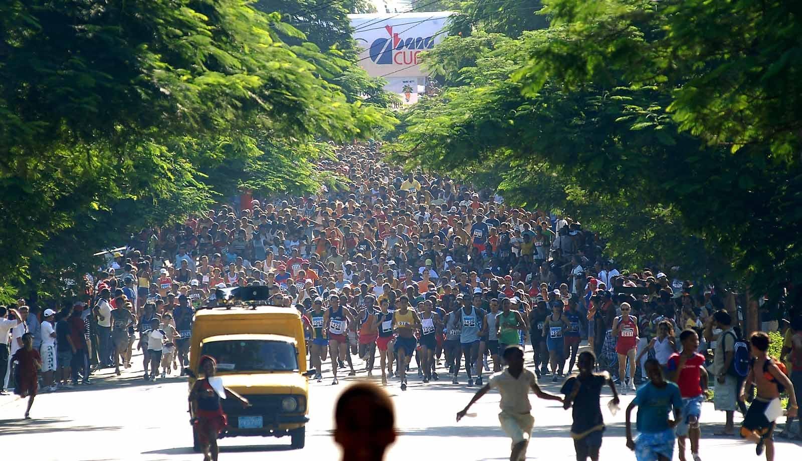 Результаты марафона в Гаване
