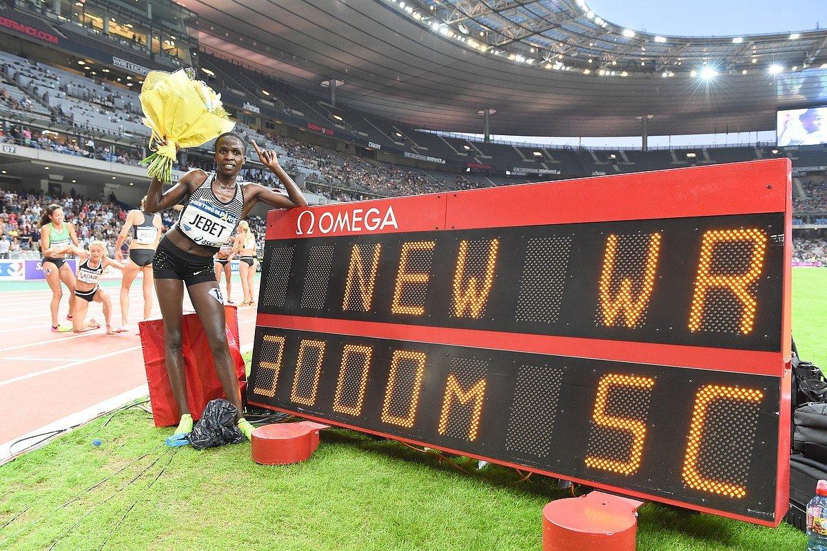 IAAF ратифицировала рекорд Рут Джебет