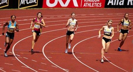 Бег на средние дистанции