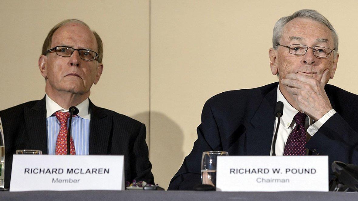 Ричард Макларен передал WADA и федерациям полные сведения о спортсменах, применявших допинг