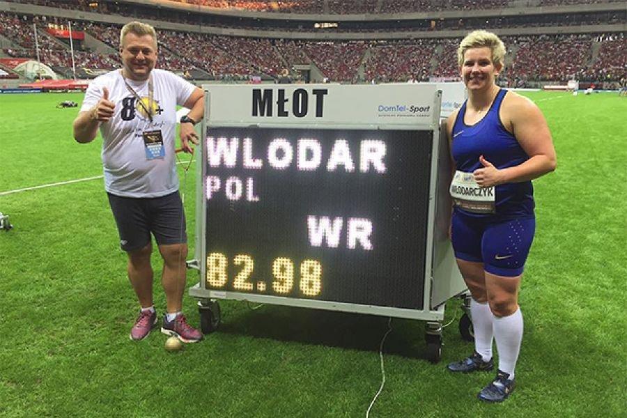 Ратифицирован мировой рекорд Аниты Влодарчик установленный в Варшаве