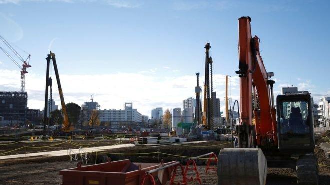 В Токио началось строительство нового Олимпийского стадиона