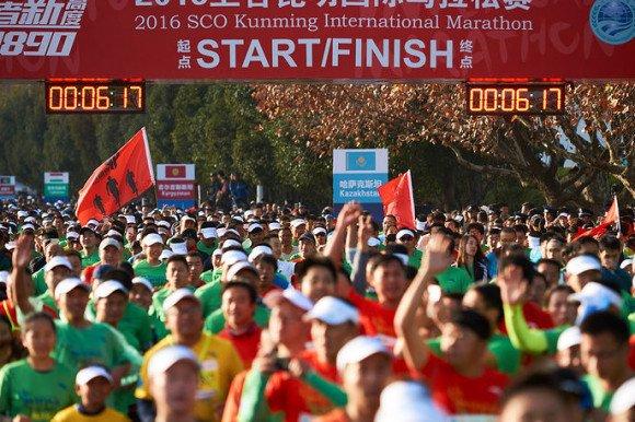 В Китае прошел марафон в честь 15-летия ШОС