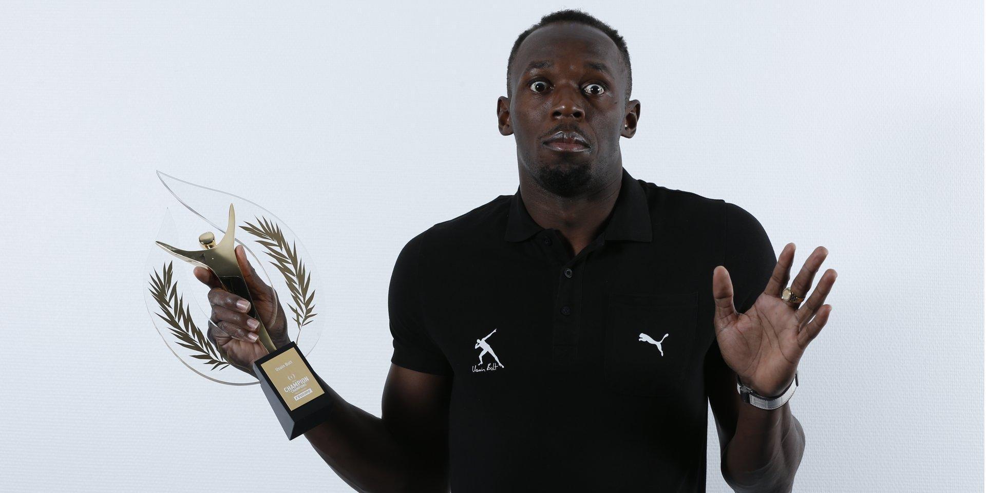 Усэйн Болт — спортсмен года по версии французской газеты L'Equipe