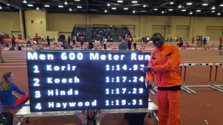 Эммануэль Корир установил мировой рекорд на дистанции 600 метров!!!