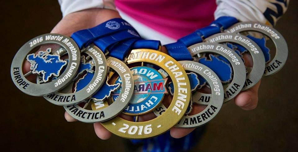 Семь марафонов за семь дней
