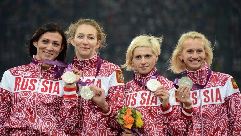МОК лишил сборную России серебра Лондона-2012 в эстафете 4х400
