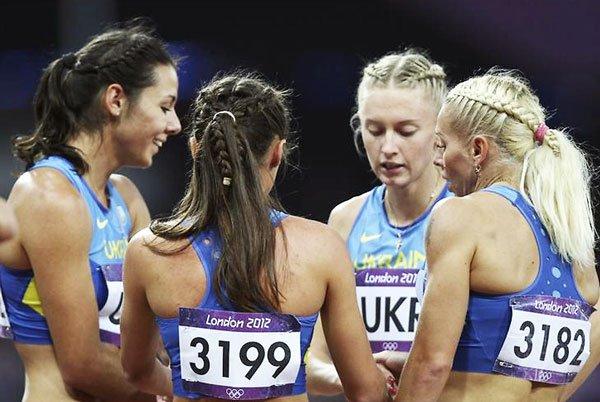 Сборная Украины получит олимпийскую бронзу в женской эстафете