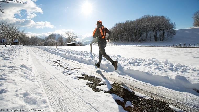 Особенности проведения длительной пробежки зимой