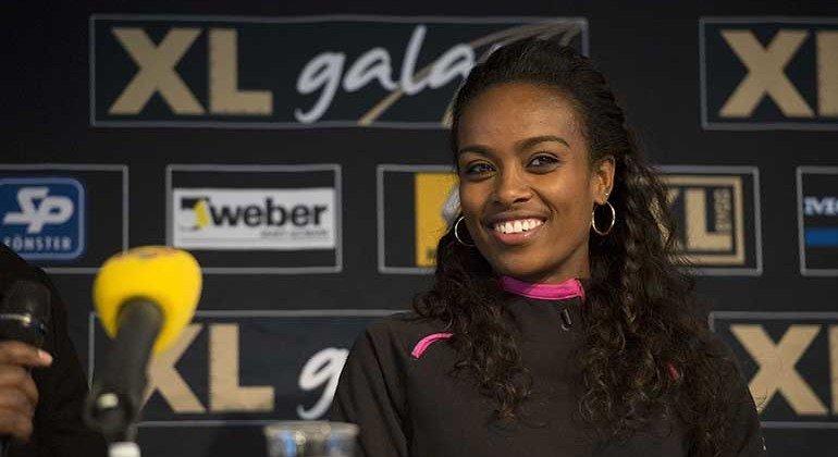 Гензебе Дибаба будет атаковать мировой рекорд на дистанции 1500 м на  турнире Copernicus Cup