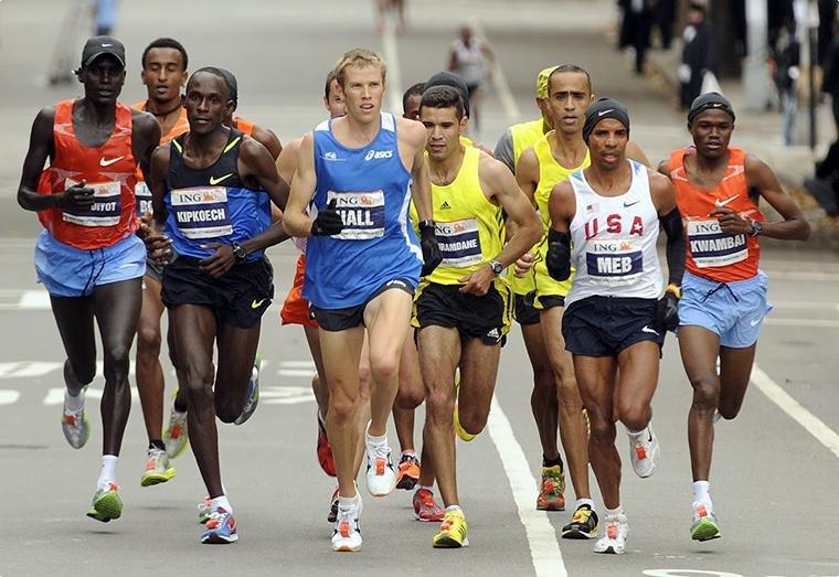 Идеальный соревновательный вес бегуна
