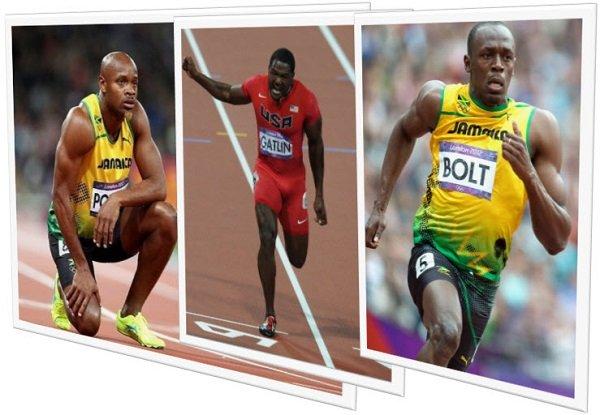 Самые быстрые в мире спортсмены на дистанции 100 метров +ВИДЕО