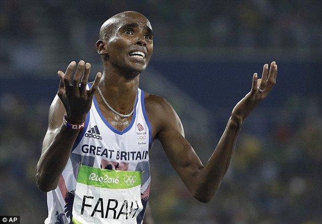 В США выступают за перепроверку допинг-проб Мо Фары
