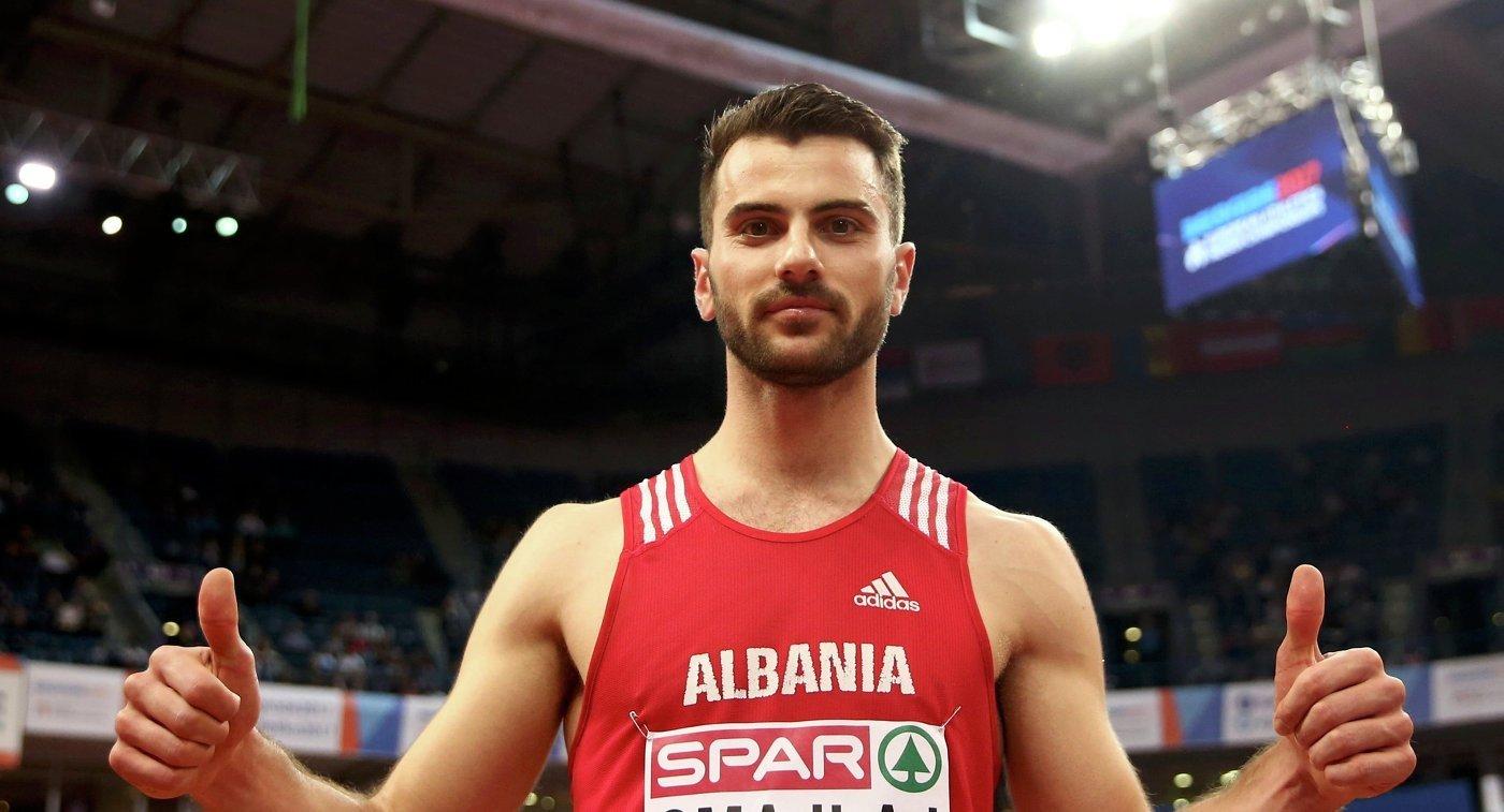 Албанец Измир Смайлай одержал победу в прыжках в длину на зимнем ЧЕ в Белграде