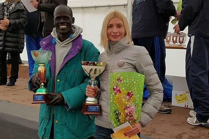 Украинка выиграла полумарафон в Италии