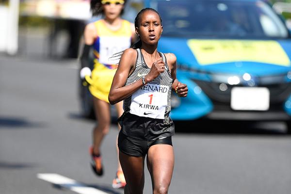 Юнис Кирва в третий раз подряд победила в Nagoya Women's Marathon