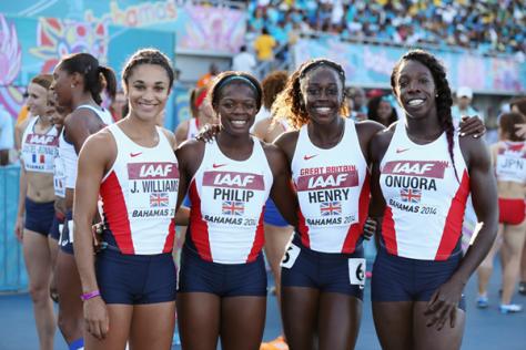 Состав участников Великобритании на чемпионат мира по легкоатлетическим эстафетам