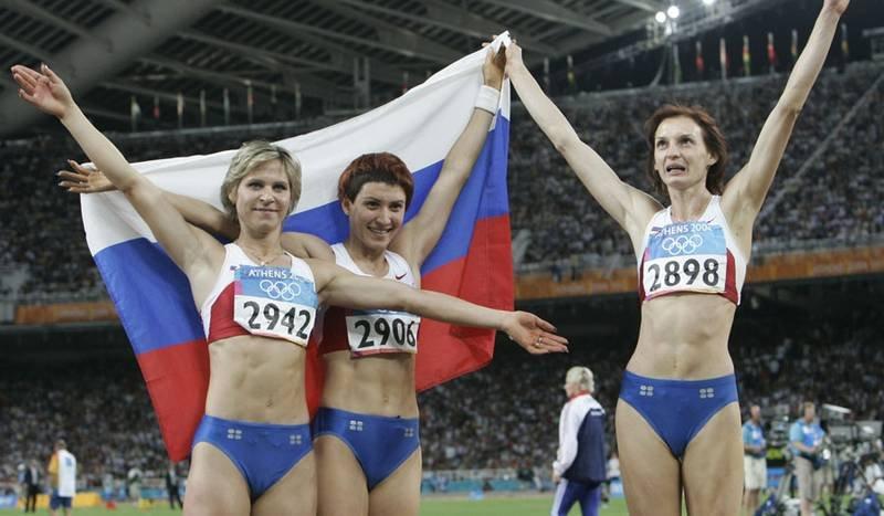 Трех российских призеров Олимпиады в Афинах просят проверить на допинг