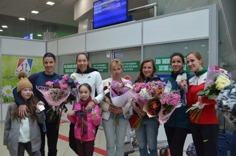 Белорусская команда вернулась с чемпионата мира по эстафетному бегу