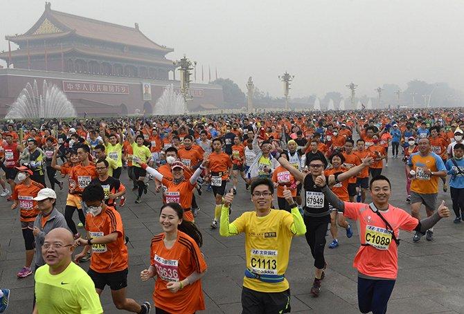 В Китае планируют провести один из крупнейших марафонов