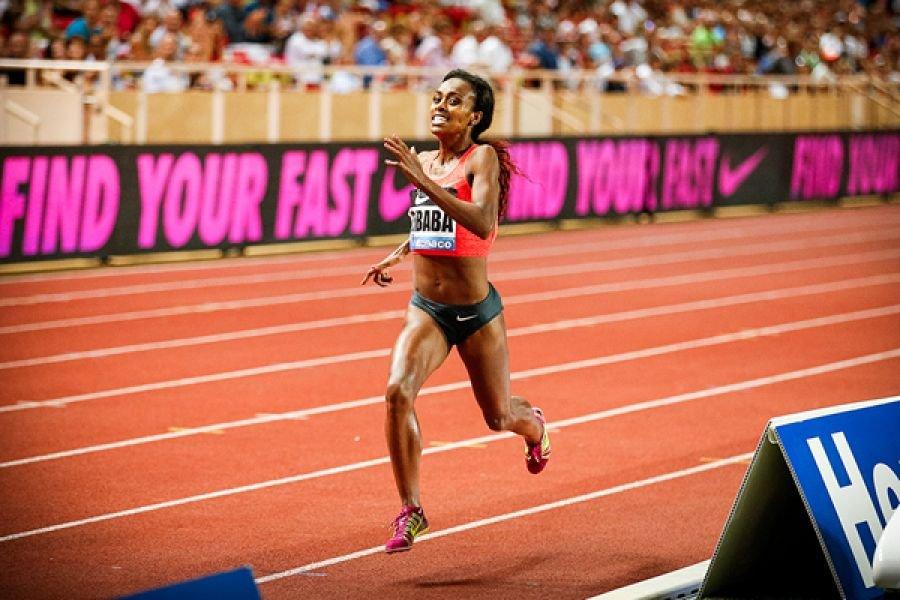 Гензебе Дибаба дебютирует на 800 метров в Дохе