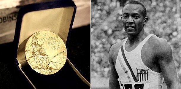 Два золота Джесси Оуэнса с Игр-1936 будут выставлены на аукцион