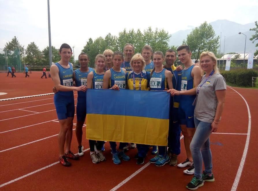Сборная Украины стала второй на международном турнире в Бурсе