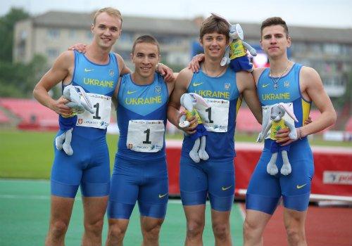 Украинцы победили на международной легкоатлетической встрече