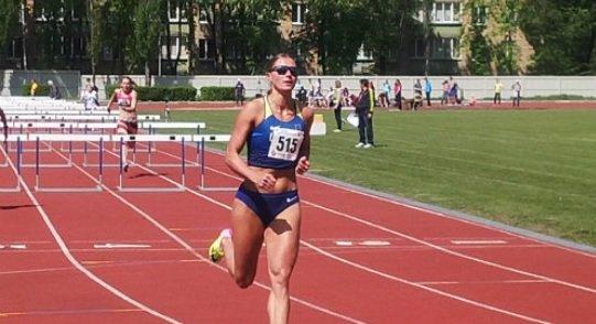 Анна Плотицына с личным рекордом сезона выиграла турнир во Франции