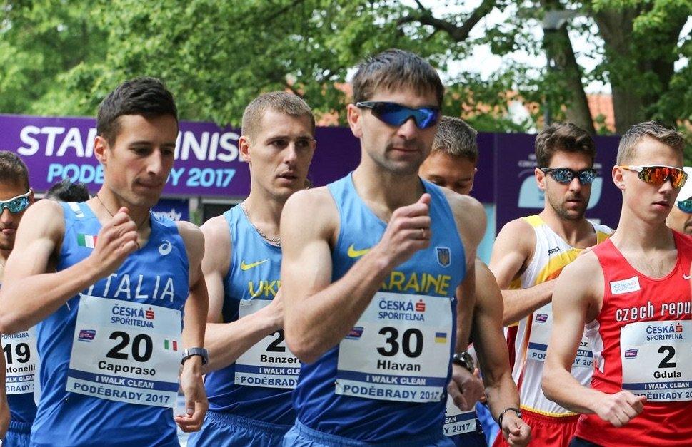 Украинские ходоки выиграли Кубок Европы по спортивной ходьбе на 50 км