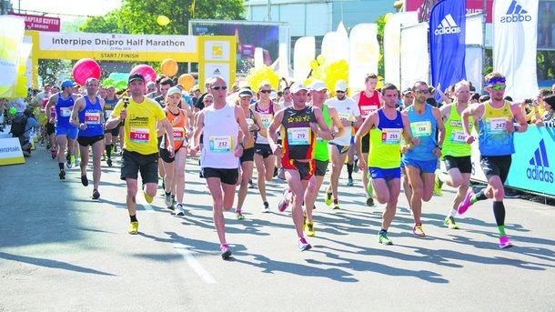 Юрий Грицак и Анна Печко – победители Interpipe Dnipro Half Marathon 2017