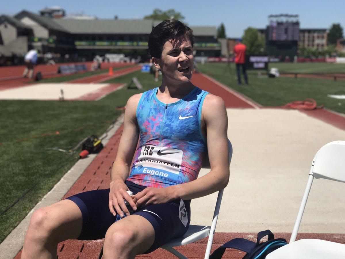 16-летний Якоб Ингебритцен – самый юный Sub4 на миле бегун в истории! +Видео