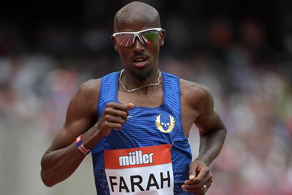 Мо Фара пробежит 3000 метров га этапе Бриллиантовой лиги в Лондоне
