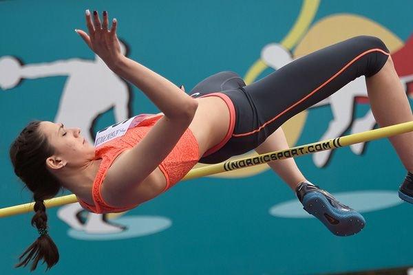 Мария Ласицкене взяла высоту – 2,04 м +Видео