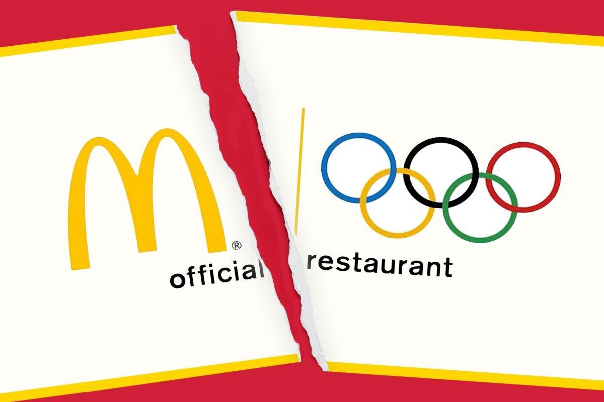 МОК прекратил сотрудничество с «Макдоналдс»