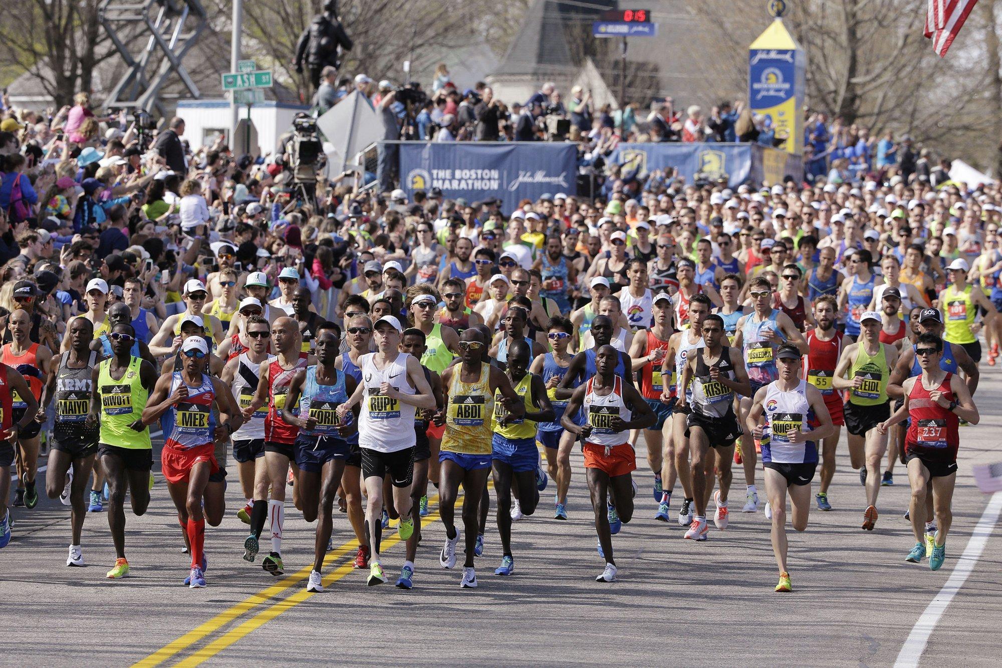 Участники «Бостонского марафона-2017» собрали более 34 миллионов долларов на благотворительность