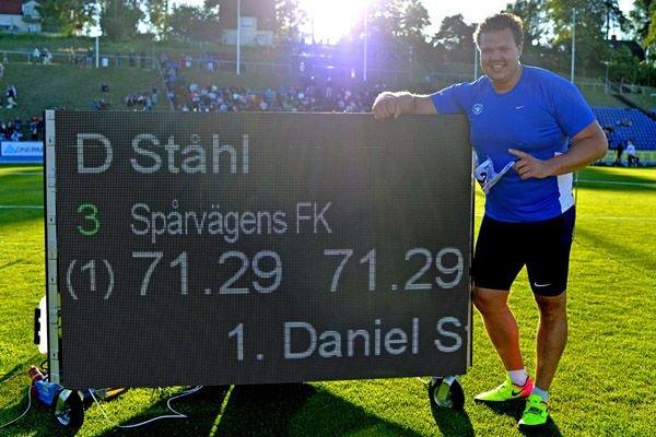 Даниэль Сталь установил национальный рекорд Швеции +Видео