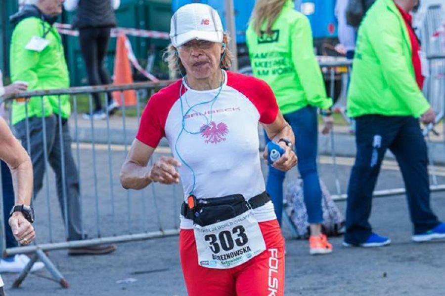 Патрисия Бережновска установила высшее мировое достижение в суточном беге